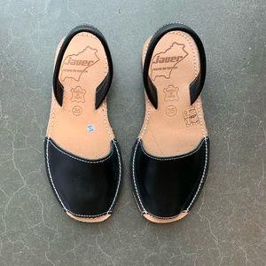 UO Black Sandals